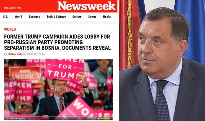 Dodik newsweek