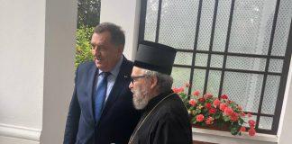 Dodik sa Srbima u Madjatskoj