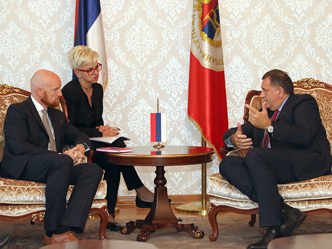 Milorad Dodik i Metju Fild