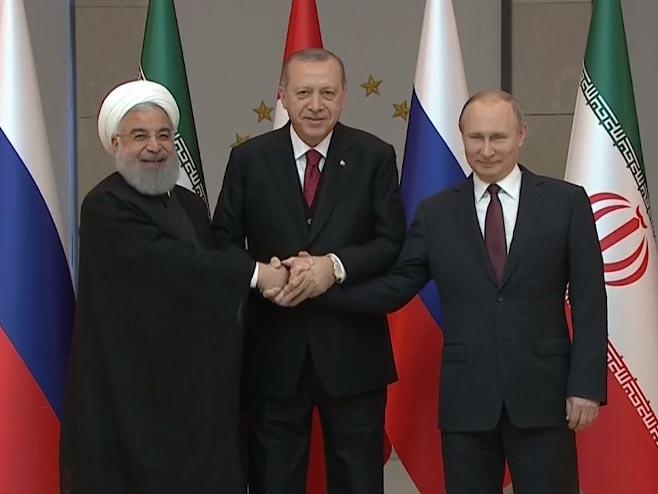 Rohani, Putin i Erdogan
