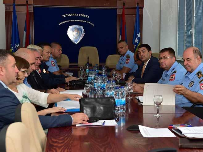 Sastanak Koordinacionog tijela za praćenje kretanja ilegalnih migranata